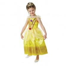 Kostým kráska Bella s flitrami - licenčný kostým