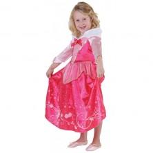 Kostým Šípková Ruženka s flitrovým potlačou - licenčný kostým