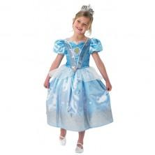 Kostým Popolušky - Cinderella Glitter - licenčný kostým
