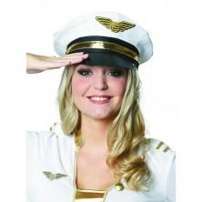 Biela dôstojnícka čiapka veľ. 58