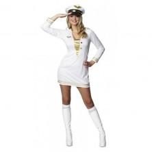 Dôstojníckej šaty biele