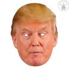 Donald Trump - kartónová maska pre dospelých