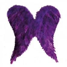 Anjelské krídla páperová fialová